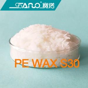Polyethylene wax for asphalt modification